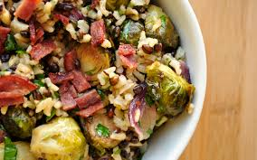 rice for thanksgiving brussels sprouts and wild brown rice
