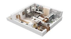 square house floor plans 40 square meter apartment design in rome 3d house floor