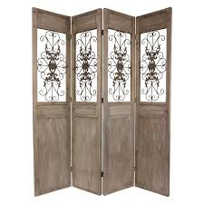metal room divider screen gems egyptian double sided room divider hayneedle