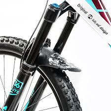 riesel design riesel design schlamm pe front fork rear mudguard grizzly 2017