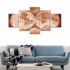 Framed Map Of The World compare prices on vintage framed maps online shopping buy low