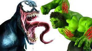 incredible hulk cartoons kids hulk venom fight
