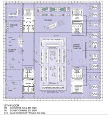 Office Design Floor Plans by Gallery Of Tehran Stock Exchange Competition 2nd Prize Hadi