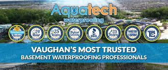 basement waterproofing vaughan 416 300 2191 aquatech