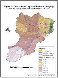Map Of Cedar Falls Iowa Groundwater Resource Vulnerability Caught In Cedar Falls Iowa
