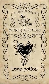 Halloween Printables Decorations Label Bottle Halloween Apothecary Label Love Potion Printable