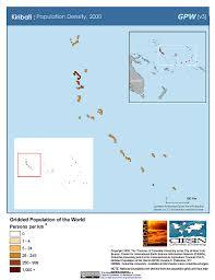 Micronesia Map Maps Population Density Grid V3 Sedac