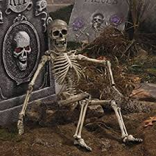 poseable skeleton posable skeleton outdoor garden decor home