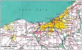 East Usa Map by Maps Usa Map Cleveland