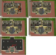 Public Floor Plans by Mod The Sims 1970 Public Housing Fully Hybrid Furnished No Cc