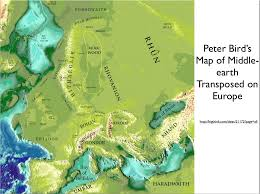Map Of Mordor The Elaborate And Curious Geographies Of Frank Herbert And