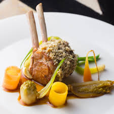 recette cuisine gastro carré d agneau légumes de la ferme de l abbé rozier arts