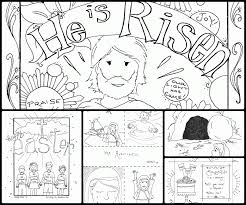 he is risen coloring pages kids coloring