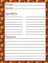 507 best printable recipe cards images on printable