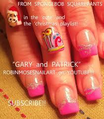 robin moses nail art spongebob squarepants nails spongebob