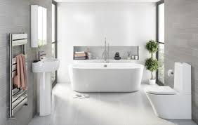 grey bathroom designs irrational modern bathroom with same tile on
