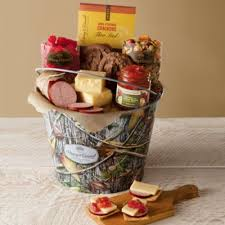 david harry s gift baskets gourmet outdoorsman snack pail gifts for him harry david