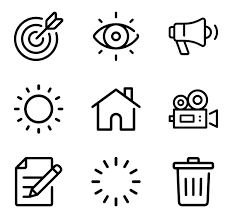 objects icons 754 free vector icons