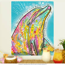 dolphin yolo dean russo pop art wall decal removable wall zoom