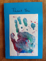 easy thank you card homemade thank you card kids thank you card