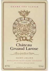 30 years of château gruaud chateau gruaud larose 1989 mash grape handcrafted spirits