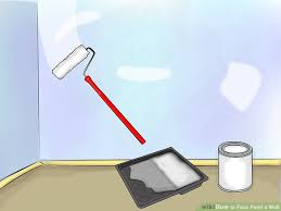 how to faux paint a wall with pictures wikihow