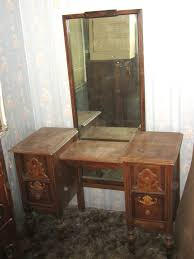 Antique Vanity Table Antique Vintage 1800 U0027s 1900 U0027s Yr Bedroom Vanity Makeup Table With