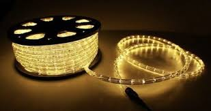 150 ft warm white 2 wire led rope light home outdoor
