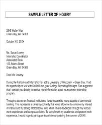 examples of inquiry letters for business 44 business letter examples