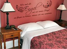 schlafzimmer spr che wandtattoos fr das schlafzimmer und bett wandtattoode unglaublich