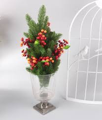 online shop artificial flower christmas pine needles and fruit the