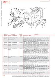 massey ferguson transmission u0026 pto page 228 sparex parts lists