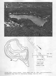 Map Of Lake Washington by Bathymetric Maps Northwest Fishing Reports