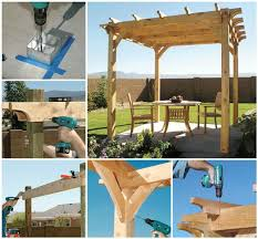 ideas diy backyard pergola