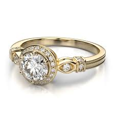 engagement rings that are not diamonds gemesis yellow engagement ring