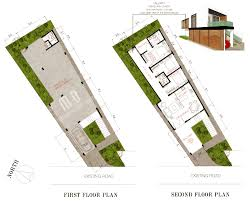 long narrow house home design long