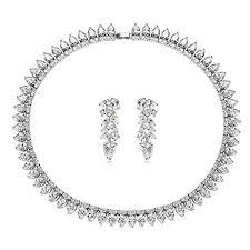 swarovski sede epinki plaqué argent femme avec swarovski elements cristal