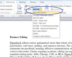 how to cite a table in apa microsoft bibliography builder word 2010
