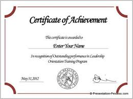 certificate of completion template powerpoint word certificate