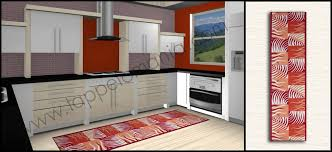 tappeti per cucine tappeti per la cucina moderna fashion new orange