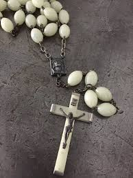 glow in the rosary vintage glow in the rosary bead necklace vintage jules