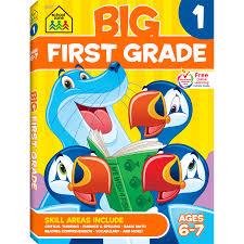 big first grade workbook will boost your child u0027s success in