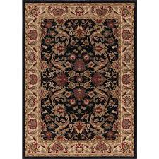 Concord Global Area Rugs Concord Global Trading Ankara Sultanabad Black 3 Ft 11 In X 5 Ft