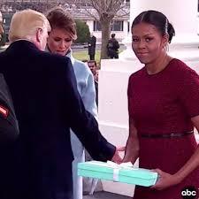 Michelle Obama Meme - michelle obama s reaction to melania trump s gift popsugar tech