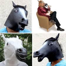 aliexpress com buy taos latex horse head mask for halloween