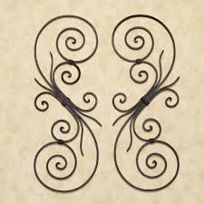 fancy iron scroll wall art 67 in playroom wall art ideas with iron