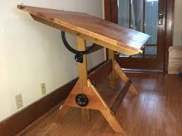 vintage wood drafting table wood drafting desk drafting vintage wooden drafting table antique
