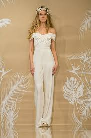for brides 35 gorgeous pantsuits and jumpsuits for brides bridalguide