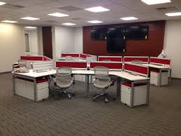 Office Furniture Workstations by Stretch Benching Workstations B6004 Conklin Office Furniture