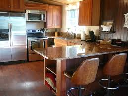 eat on kitchen island cottage on a private island where the homeaway lakebay